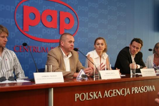 Konferencja prasowa ONKO-OLIMPIADY 2007