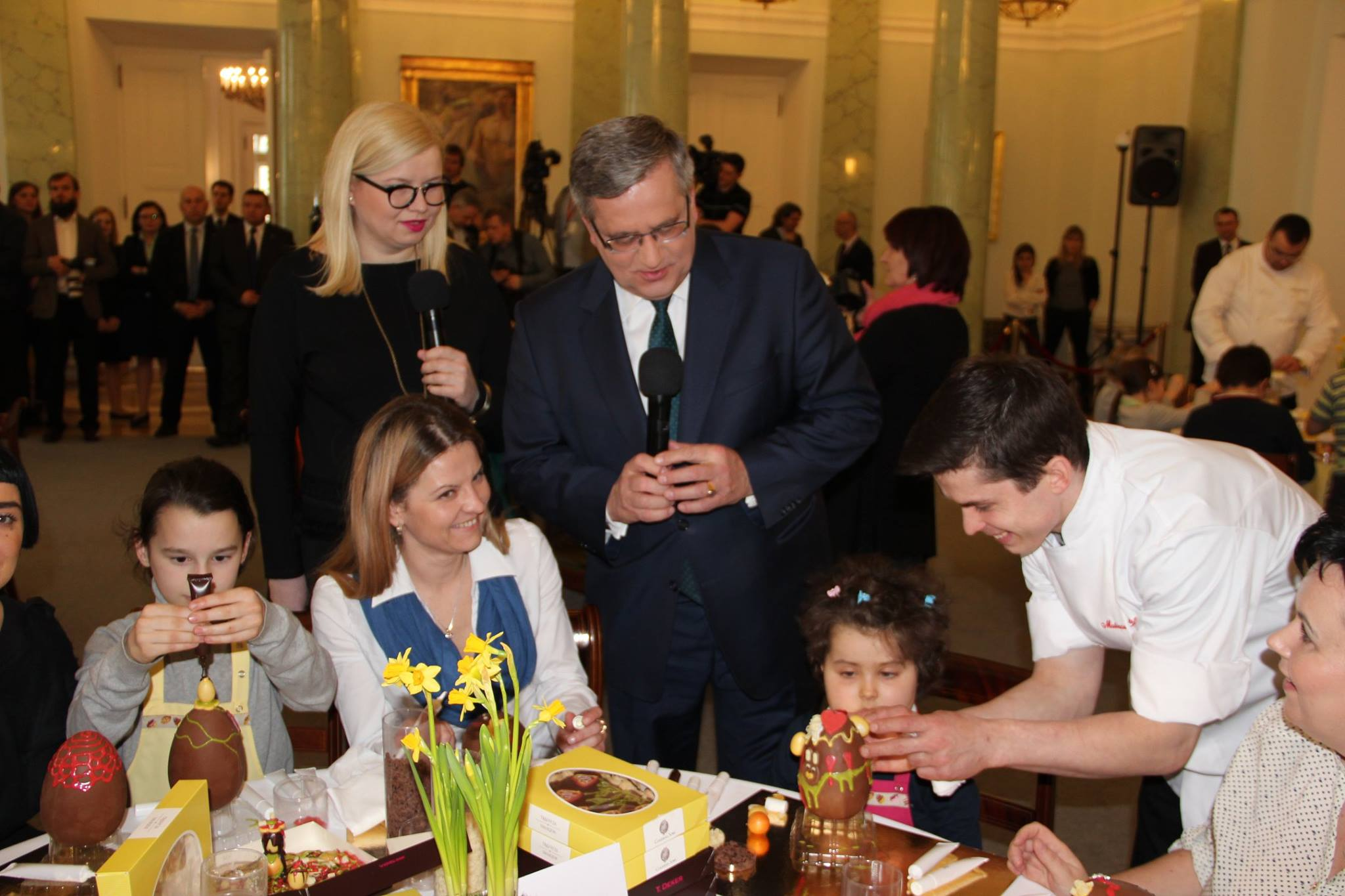 Wielkanocna wizyta w Pałacu Prezydenckim